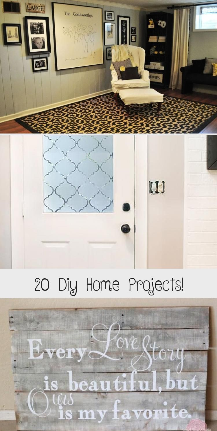 20 Diy Home Projects Recipes Ideas Home Diy Home Projects Home Decor
