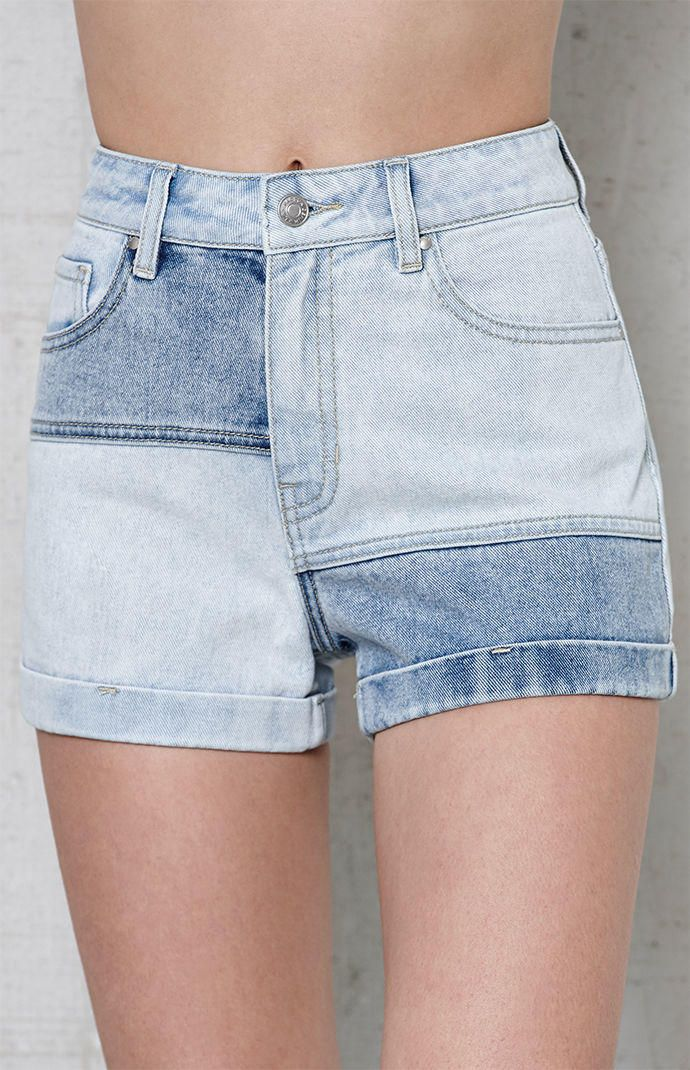 Pacsun Raggidy Denim Mom Shorts At Pacsun Com From Pacsun Saved To