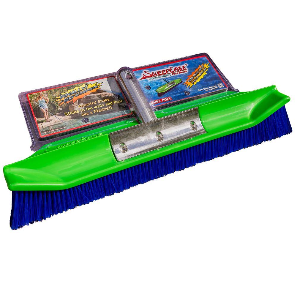 Sweepease 18 Poly Bristle Brush 65436770629 Pool Brushes Pebble Tech Pebble Tech Pool
