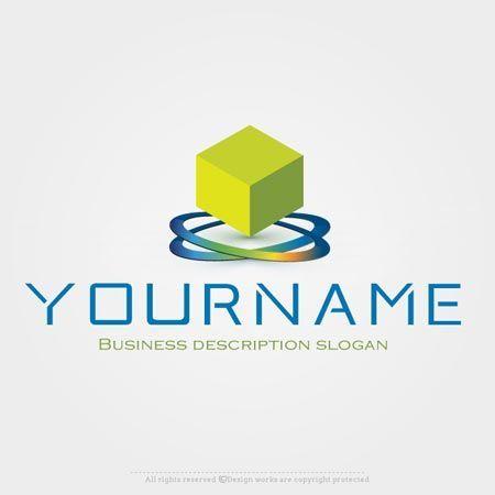 Online Logo Creator D Block Label Logo Template Online Logo - Label maker online template