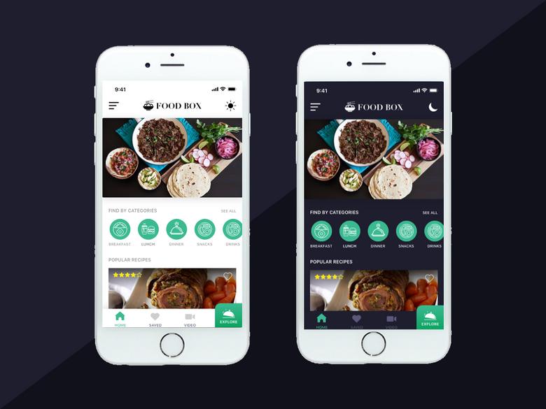 Restaurant App Mockup Restaurant App Mobile App Design App Design