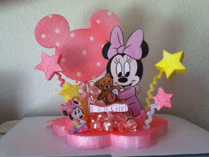 Como hacer centros de mesa de Minnie Mouse - Imagui | trabajos ...