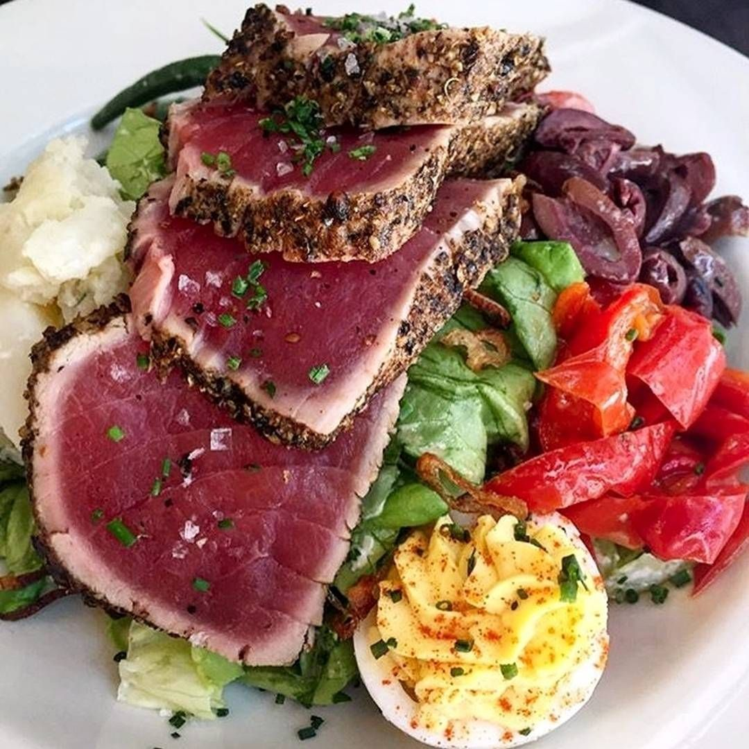 """1,885 Likes, 22 Comments -  NYC's Top Restaurants (@top_nyc_restaurants) on Instagram: """"Great for the summer weather - Tuna Salad at The Smith 