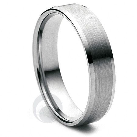 in context finish p palladium gents rings wedding ring brushed