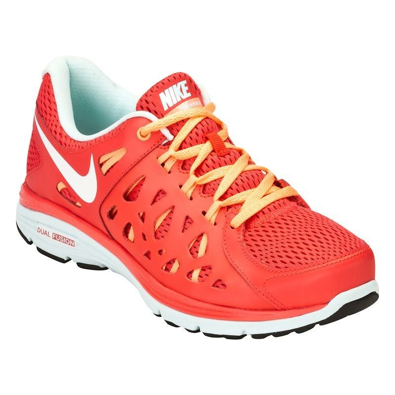 chaussures running dual femme dual running fusion rose nike e13ea1