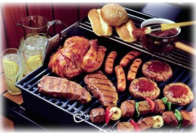 great website with grilling times for various meats