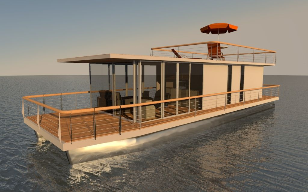 Houseboat Do It Yourself 15m Houseboat Aluminum Hulls Boats