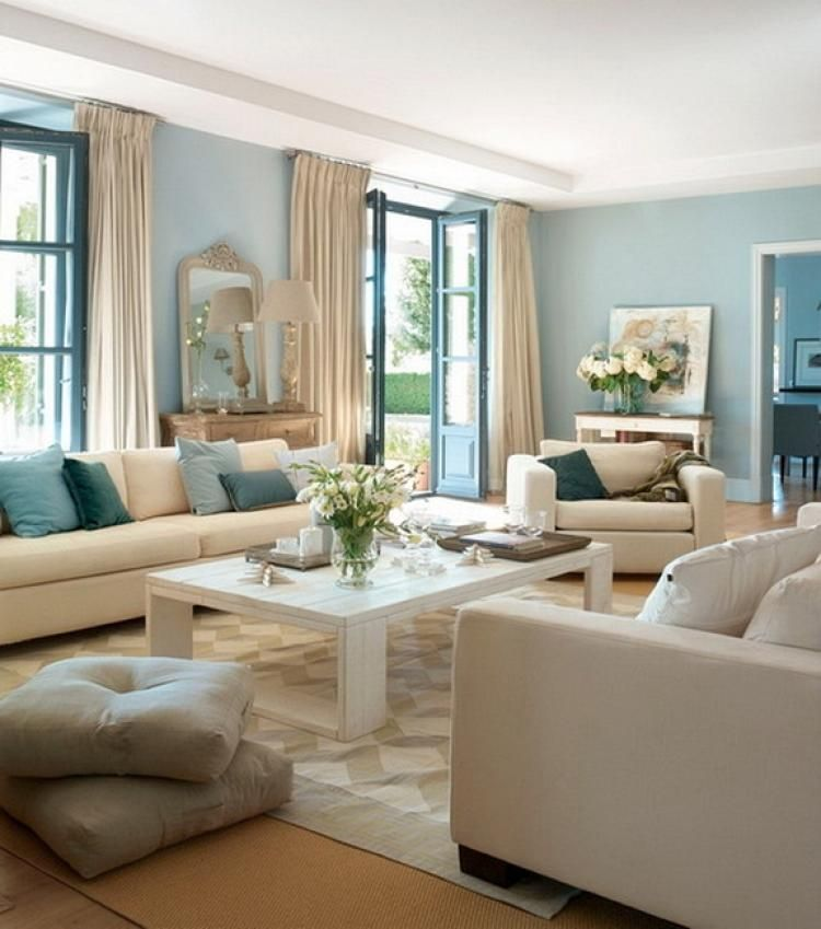 75+ Best Ideas To Decorate Your Living Room With Turquoise ...