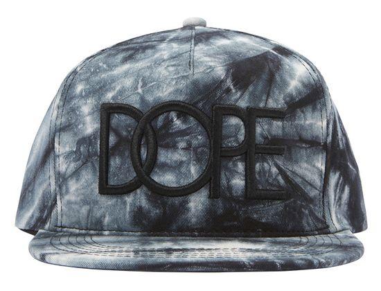 e3faa8c6ebe Tie-Dye 3D Snapback Cap by DOPE