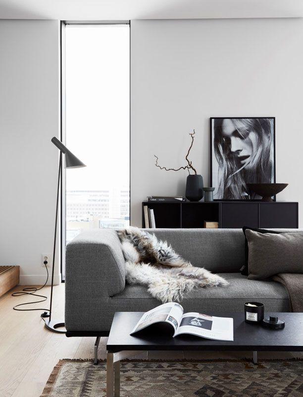 La Maison Danoise En Suede Petit Appartement Salon Deco Maison Idee Salon