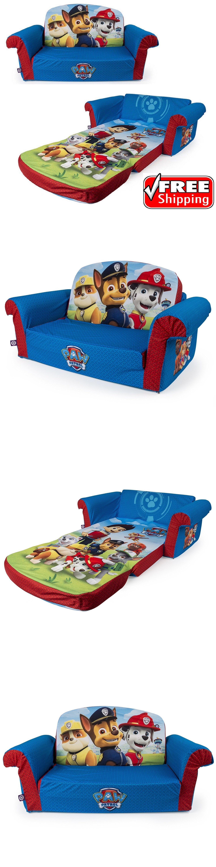 Kids Furniture: Paw Patrol Kids Sofa Flip Open Foam Seat Toddler Bed  Lounger Play Room