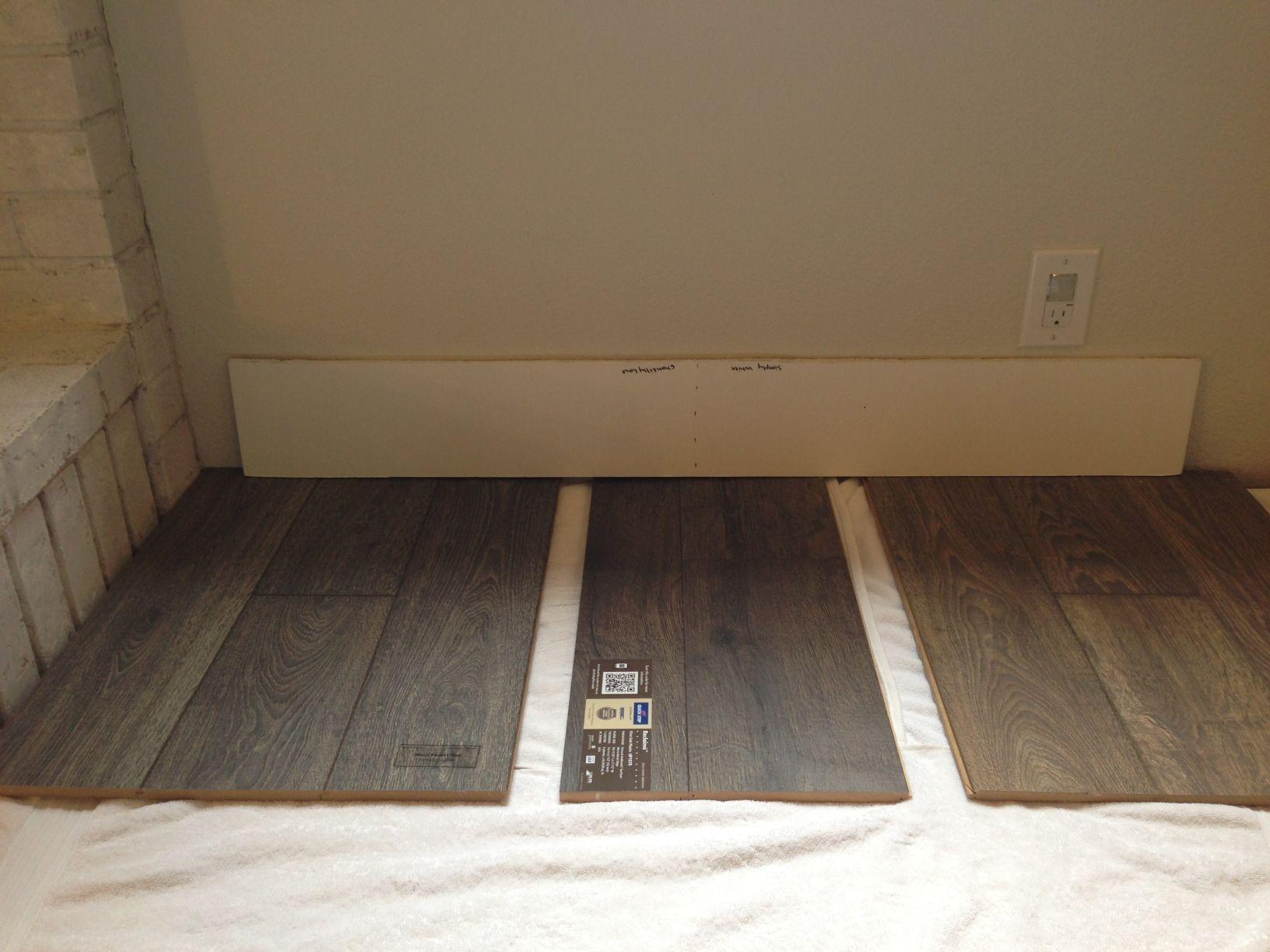 Laminate Floor Comparison Left Mannington Black Forest Oak Fumed Middle Quick Step Reclaime Flint Right Mannington Black Fore Flooring Interior Home