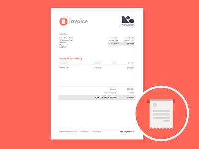 Invoice Design Logos - essential invoice elements