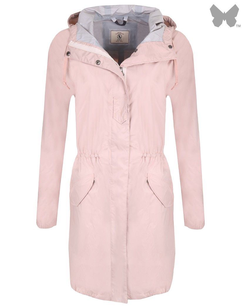 Aigle Ladies' Firstrain Parka Jacket - Cachemire | Country Attire