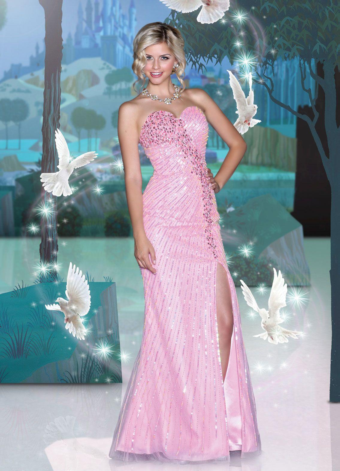 Disney Forever Enchanted Prom Dresses | dresses | Pinterest | Prom ...