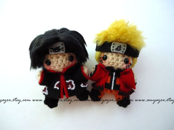 Free Naruto Amigurumi Pattern : Pin by smith on amigurumei pinterest itachi amigurumi and