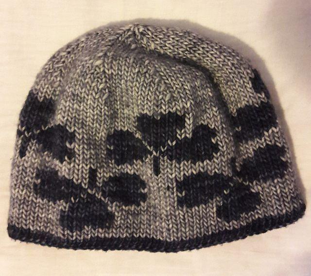Shamrocks Double Knit Hat Pattern By Melissa Milligan Knit Hats