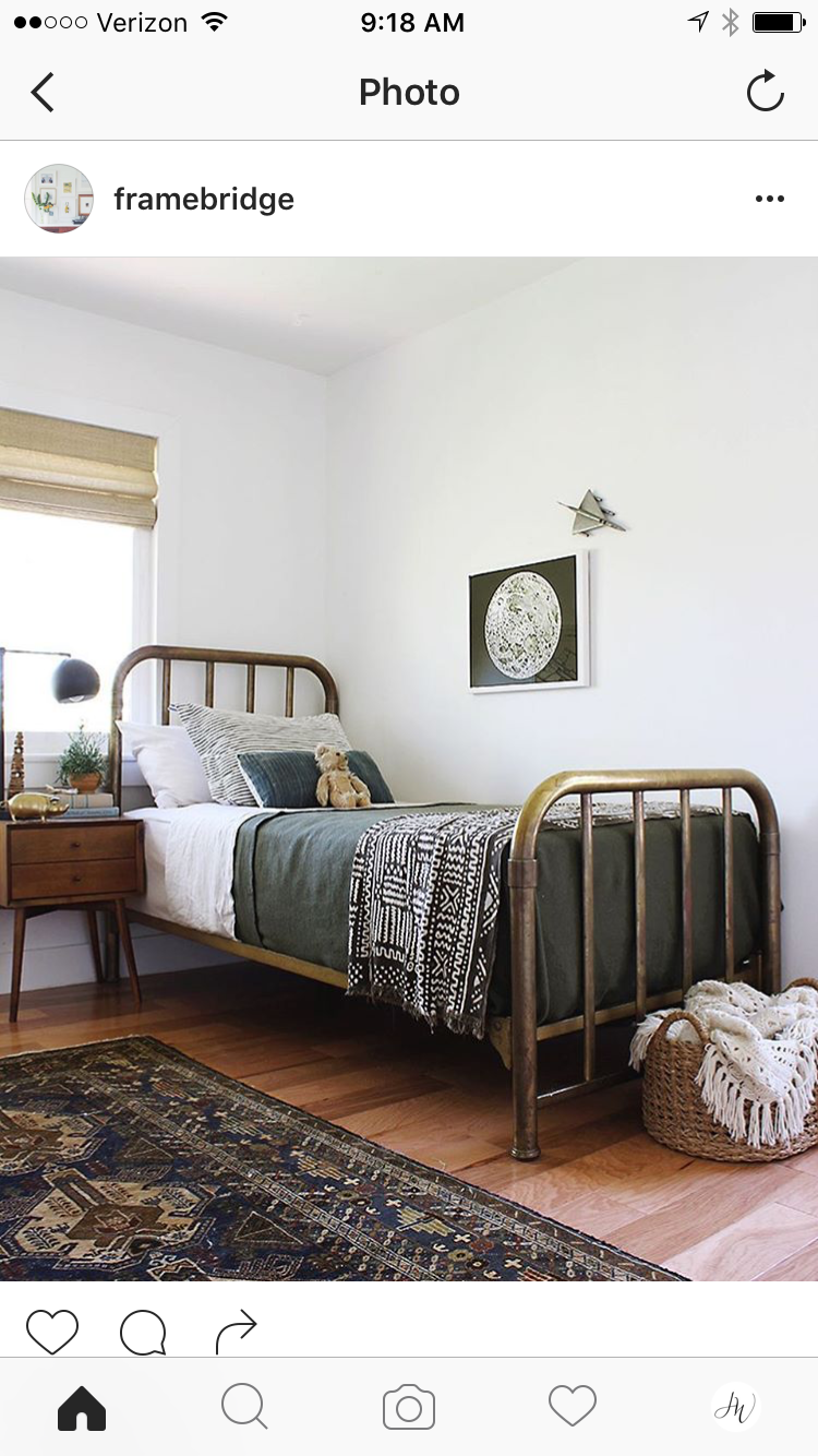 Bed frame for avery | BOys room in 2019 | Farmhouse style bedrooms ...