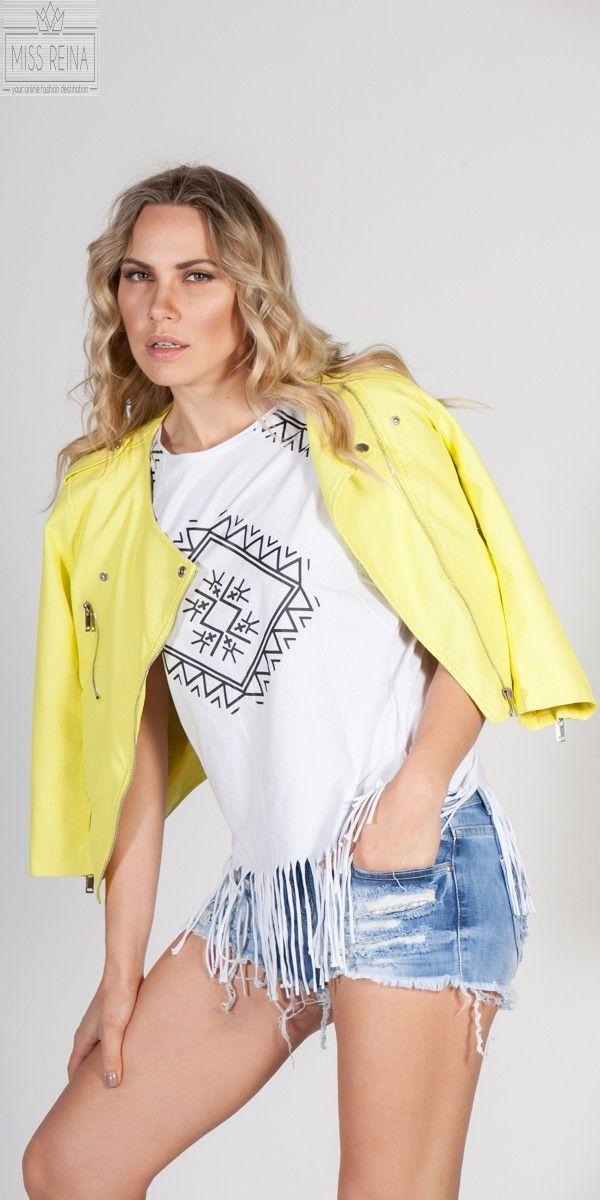 53a144050ec5 Leather look Jacket 49,90€ | ΠΑΝΩΦΟΡΙΑ