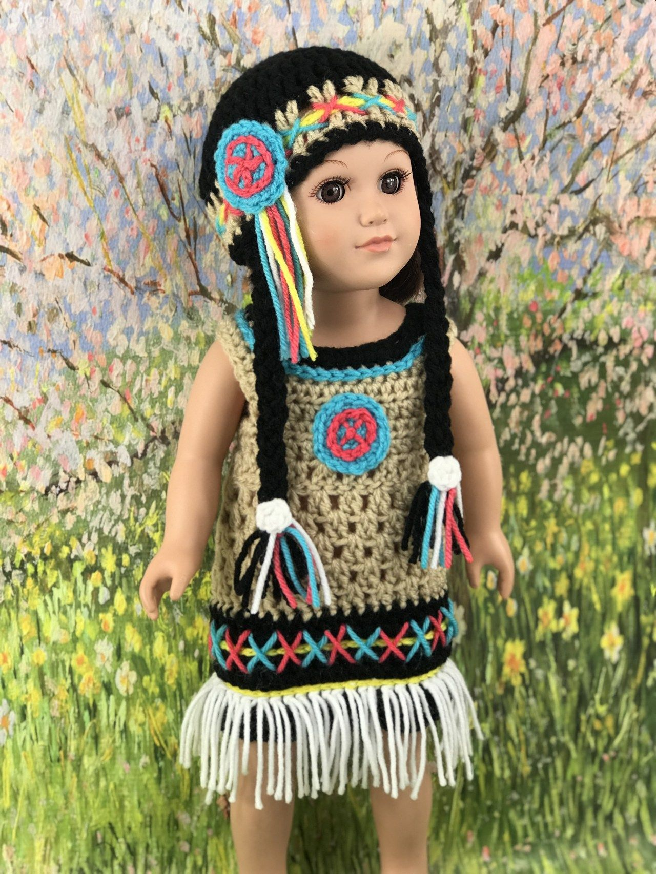 Posts - crochet native american doll hat pattern #dollhats