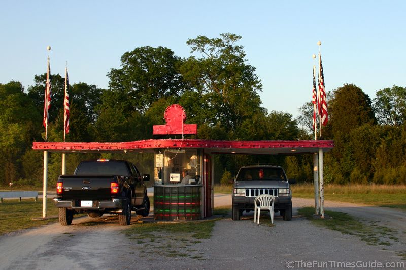 Hiway 50 drivein movie theater in lewisburg tennessee