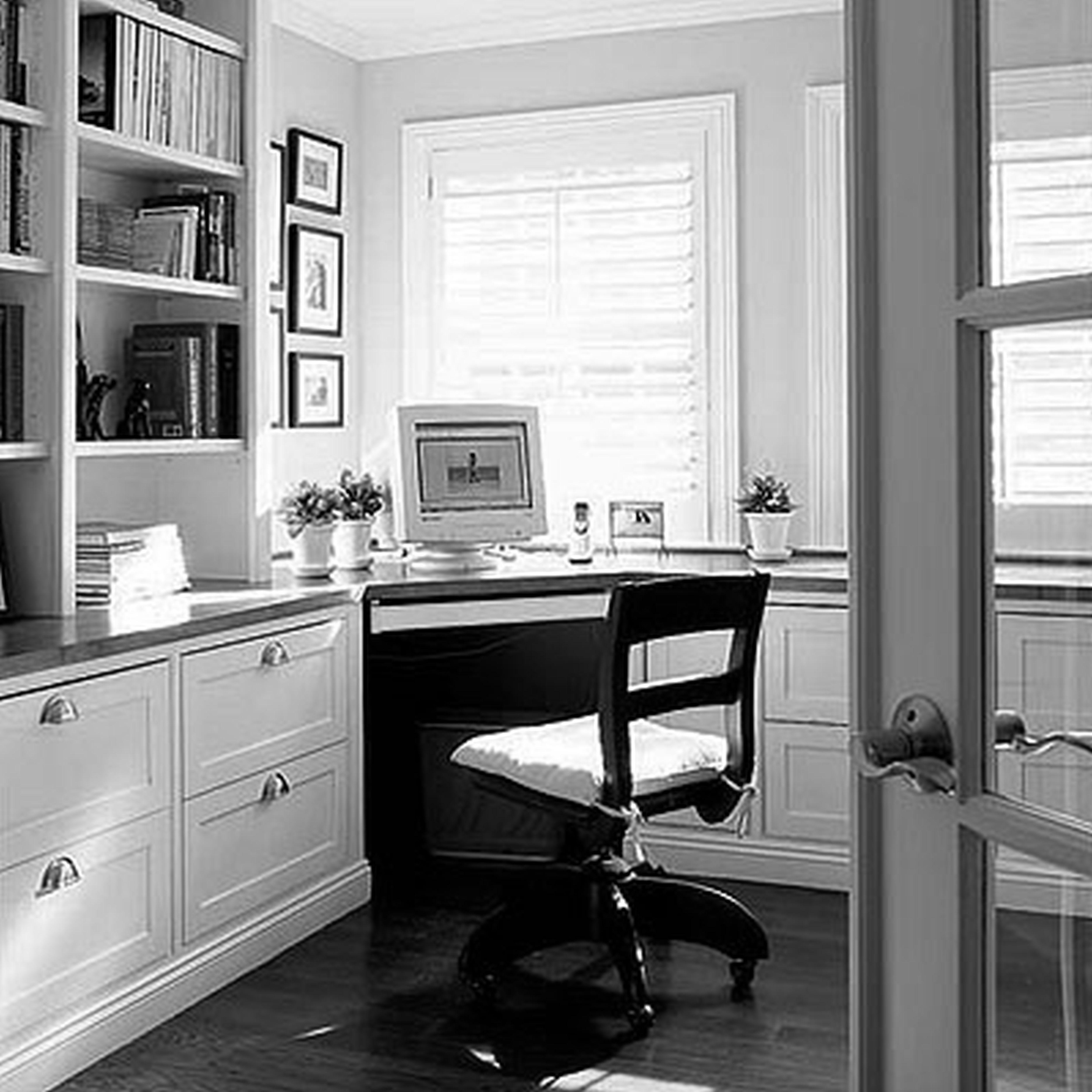 decoration small corner computer desk interior furniture on smart corner home office ideas id=11592