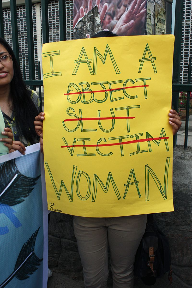 Slut Walk 2012 Nepal by YUWA Nepal.