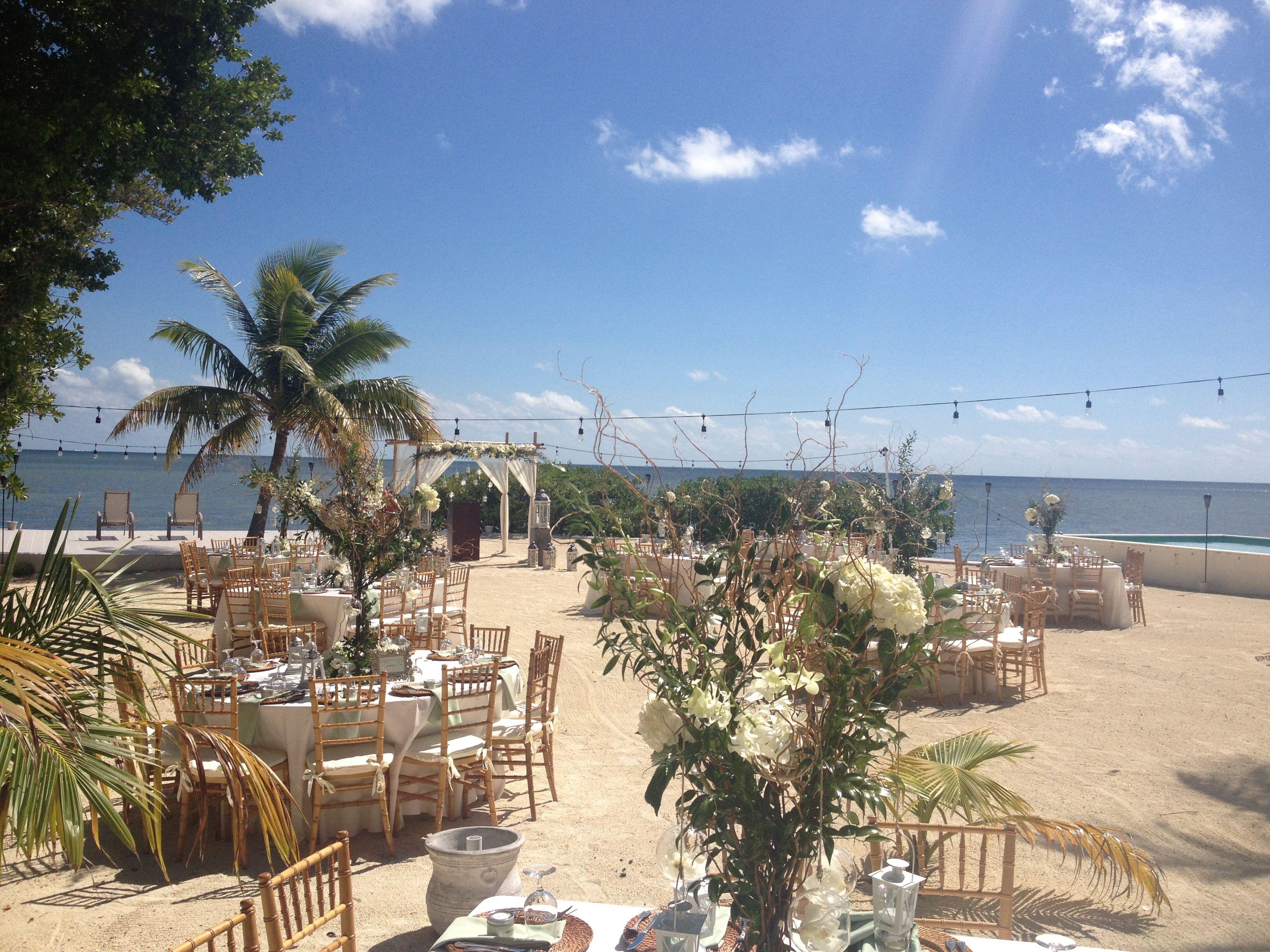 Wedding set up by Duarte Floral Design