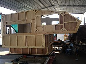 Truck Camper Frame Google Search Campers Shells Custom