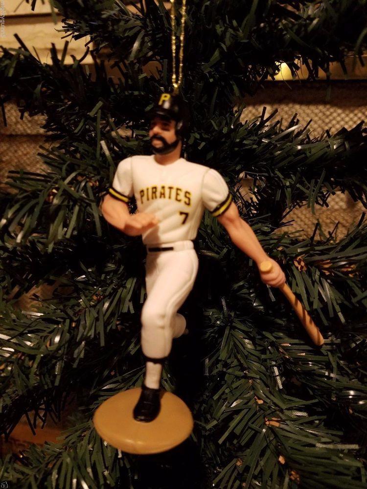 Jeff King Pittsburgh Pirates MLB Baseball Christmas Tree Ornament