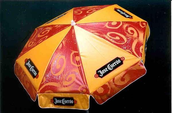 Beer Garden Umbrellas   6ft Patio U0026 Beach Beer Umbrella / Jose Cuervo  Images   Frompo