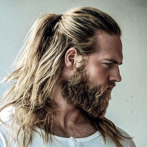 29 Best Beard Styles For Men 2020 Guide Hair Styles Man Ponytail Long Hair Styles Men