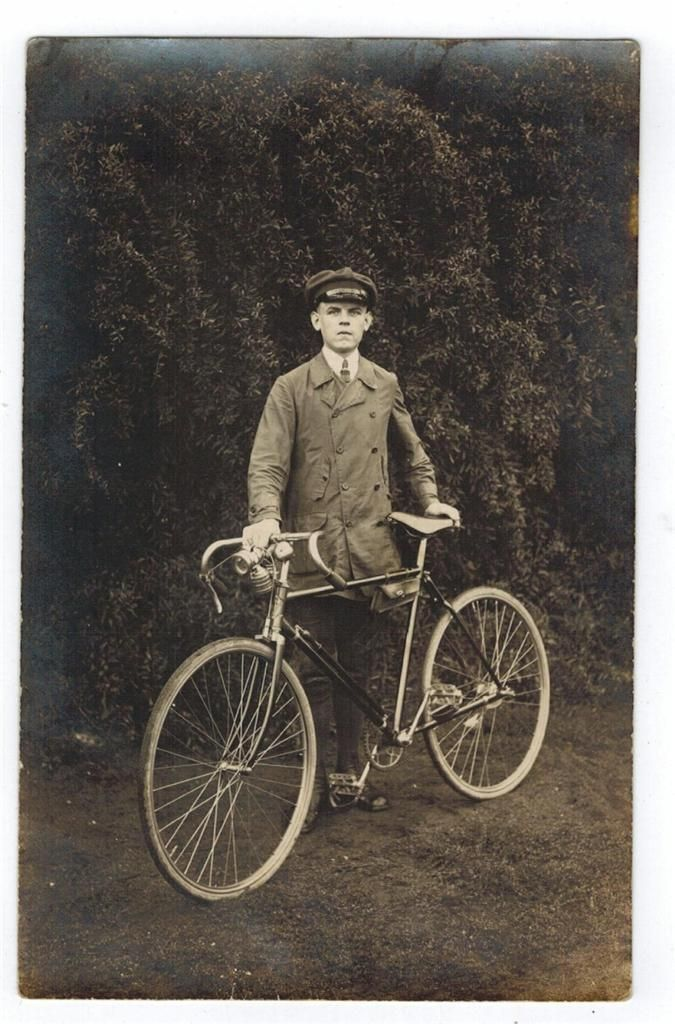 Telegram Delivery Boy And Bicycle Fancy Bicycle Beautiful Bike