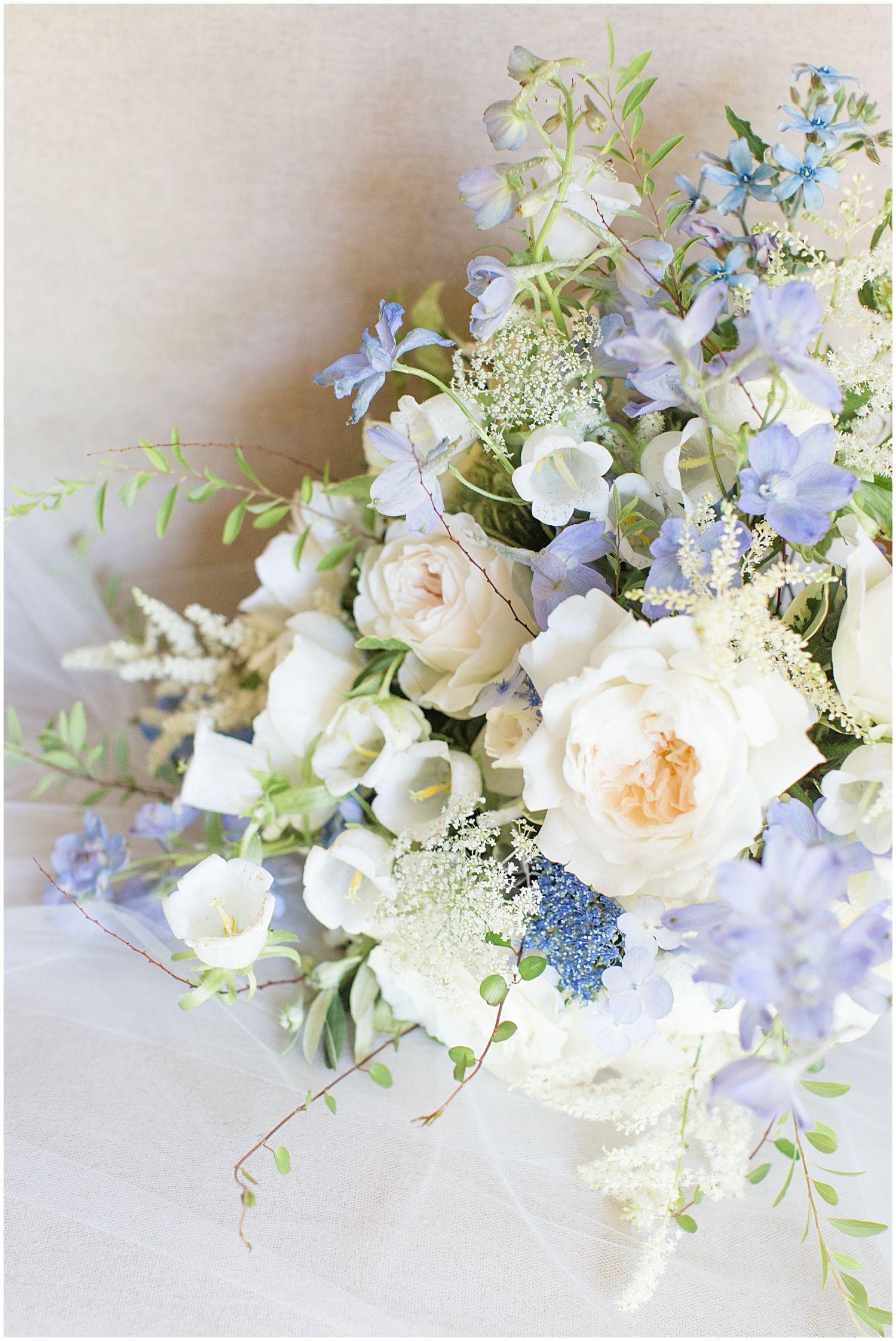 A Shades of Blue Summer Wedding in Spartanburg, SC