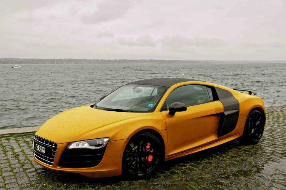 Pin by Jeton on Audi Gold car, Car wrap, Car