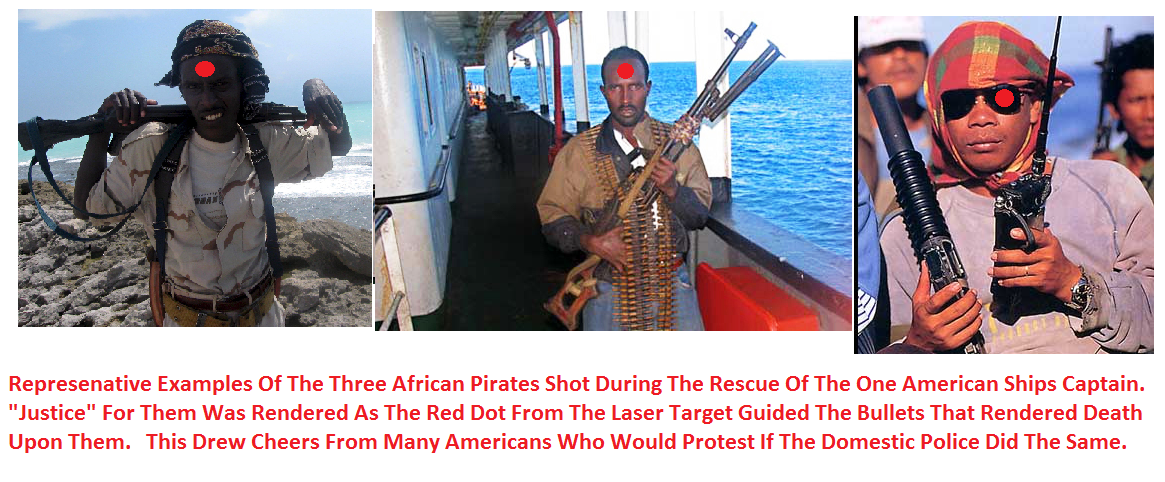 ABC: - Navy SEALs' Simultaneous Headshots on Somali Pirates Were Procedure The video below shows the Somali pirates who were .