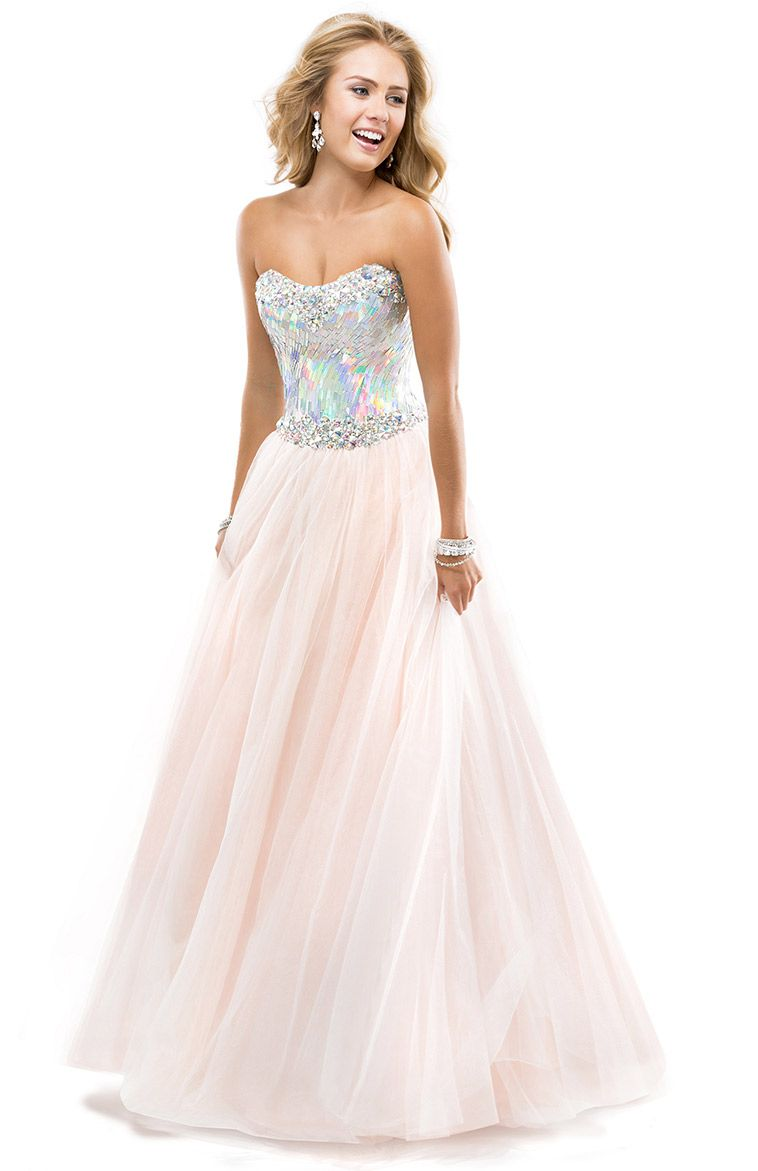 light pink prom ball gown 2014 prom dresses 2014