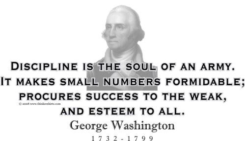 Thinkershirtscom Presents George Washington And His Famous Quote