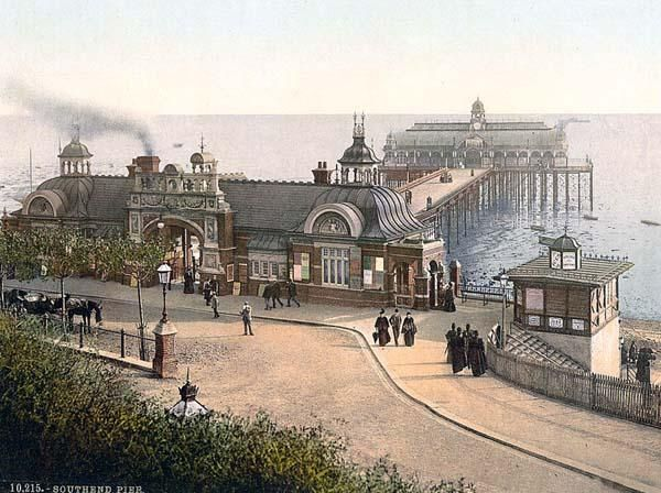 Southend Pier Cultural Centre, Essex: Southend Pier Building - e ...