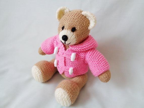 Teddy Bear Knitting Pattern Instant Digital Download ...