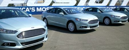 The radically revamped 2013 Ford Fusion is here. (Ford)