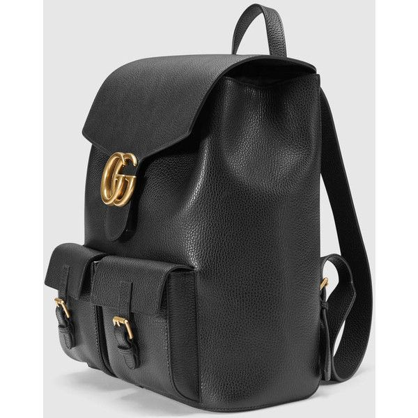 Gucci Gg Marmont Leather Backpack 1 990 Liked On Polyvore Featuring Men S Fashion