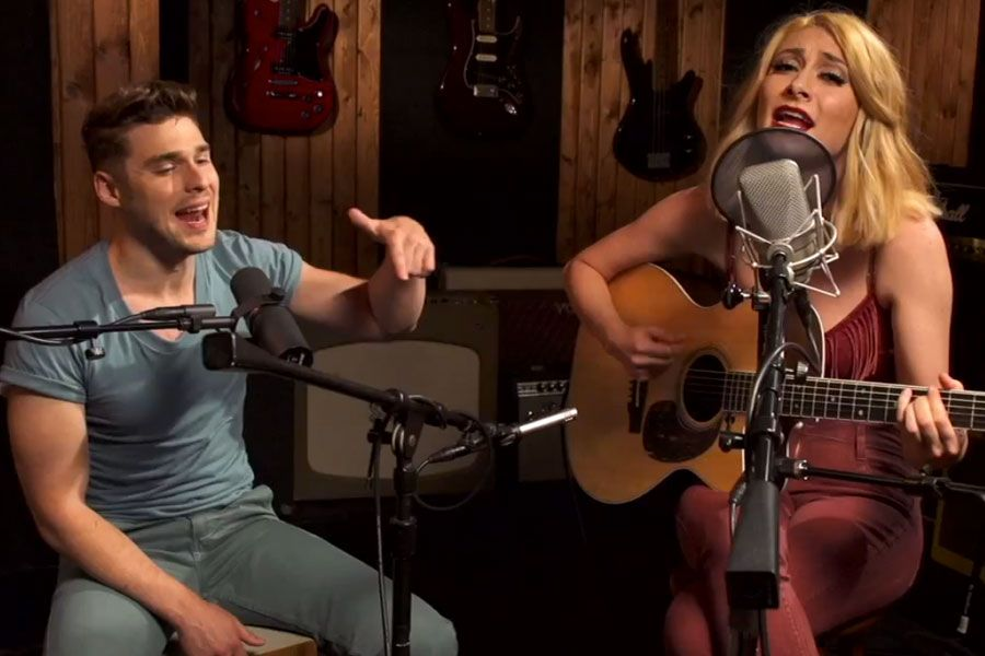 Watch Karmin's First Official Acoustic Performance of