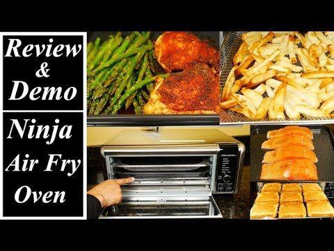 Ninja Foodi Digital Air Fry Oven Review and Demo in 2020