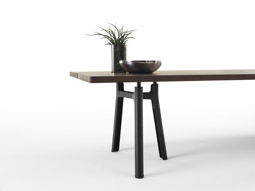 Trestle table by arco eettafel met stoelen pinterest table