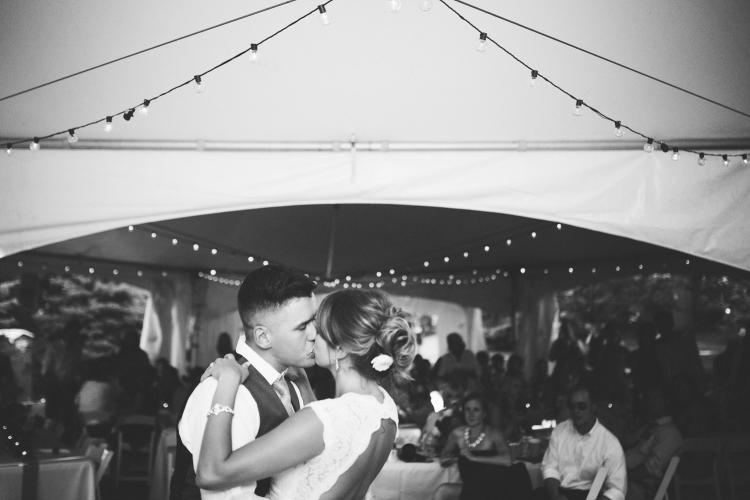 Sam & Brigitte's Backyard Barn Wedding Photo Credit