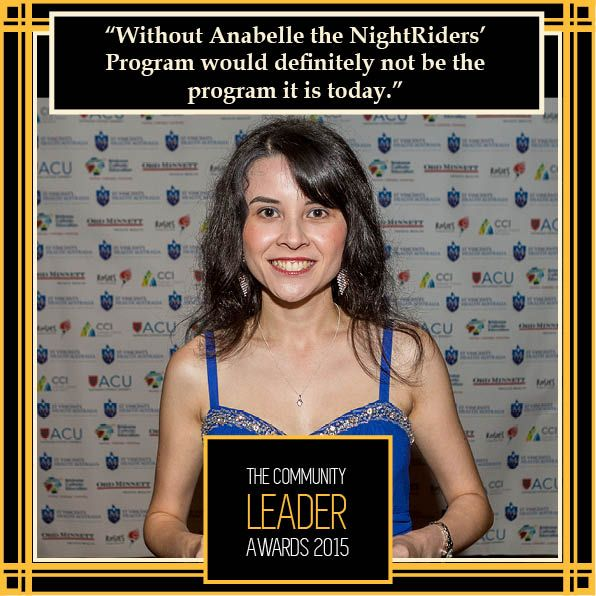 @Anabelle Hamer, Volunteer of the Year 2014 #theleaders2015