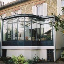 v randa entre deux murs veranda pans coup s pinterest. Black Bedroom Furniture Sets. Home Design Ideas