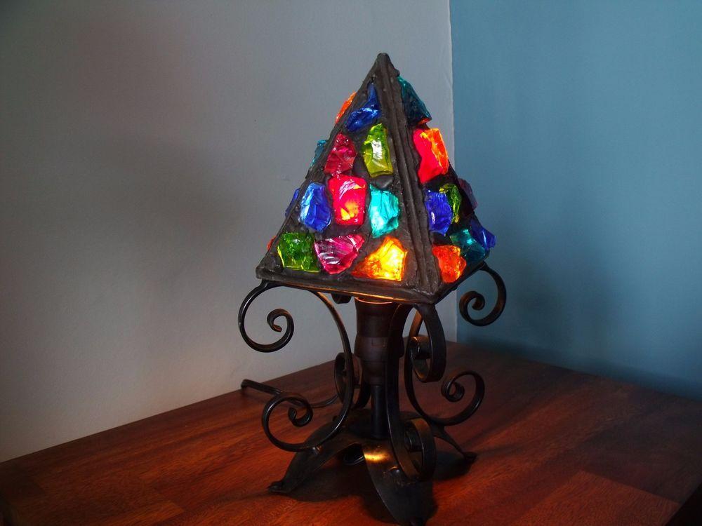 vintage Peter Marsh 1950's table lamp