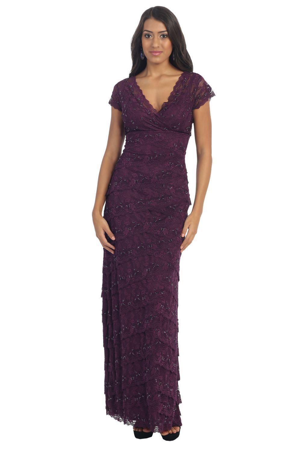 ec1f8980945 Mother of the Bride Dress Plus Size Formal Evening Long Gown Groom-The  Dress Outlet